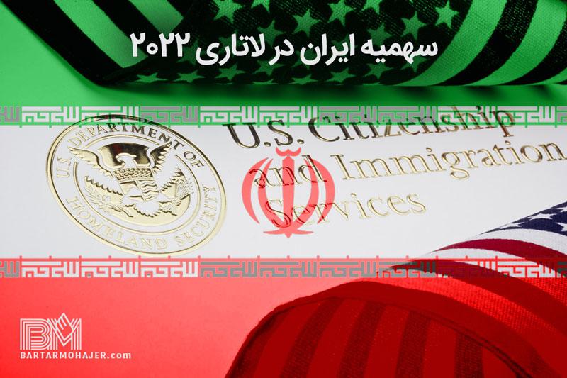 سهمیه ایران در لاتاری 2022